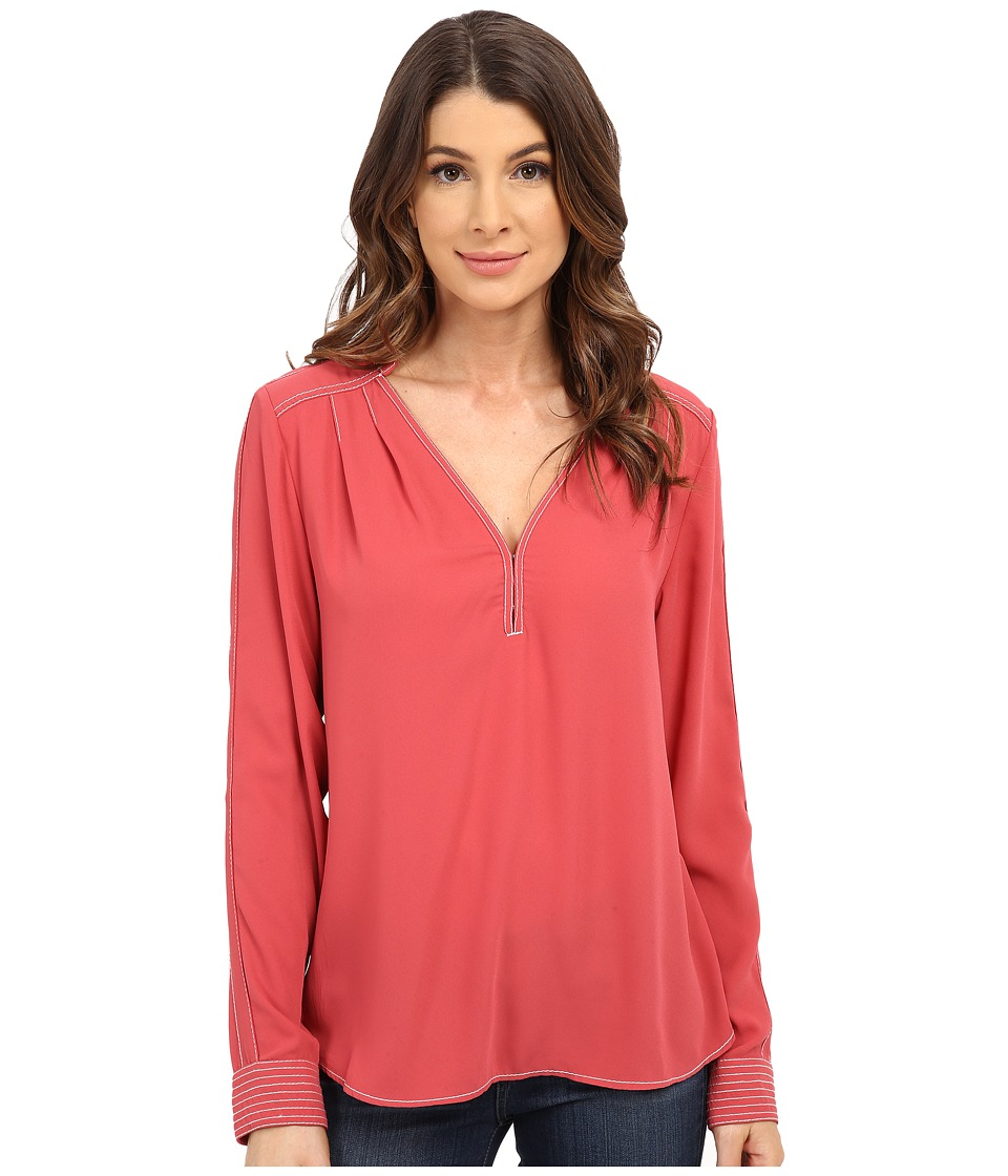 Sanctuary - Daisy Blouse (Bright Marsala) Women's Blouse