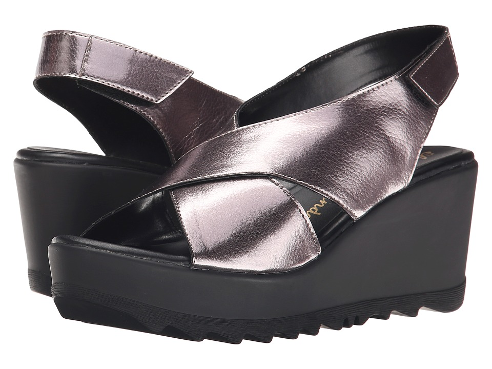 Athena Alexander - Torri (Pewter Crinkle) Women's Wedge Shoes