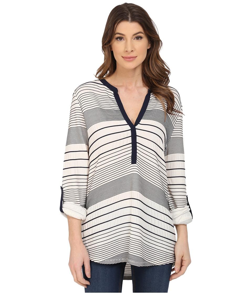 Sanctuary - Julianna Shirt (Marine/Milk) Women's Blouse