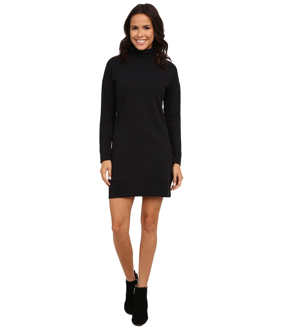 Alternative - Eco Micro Fleece Traveller Dress (Black) Women's Dress