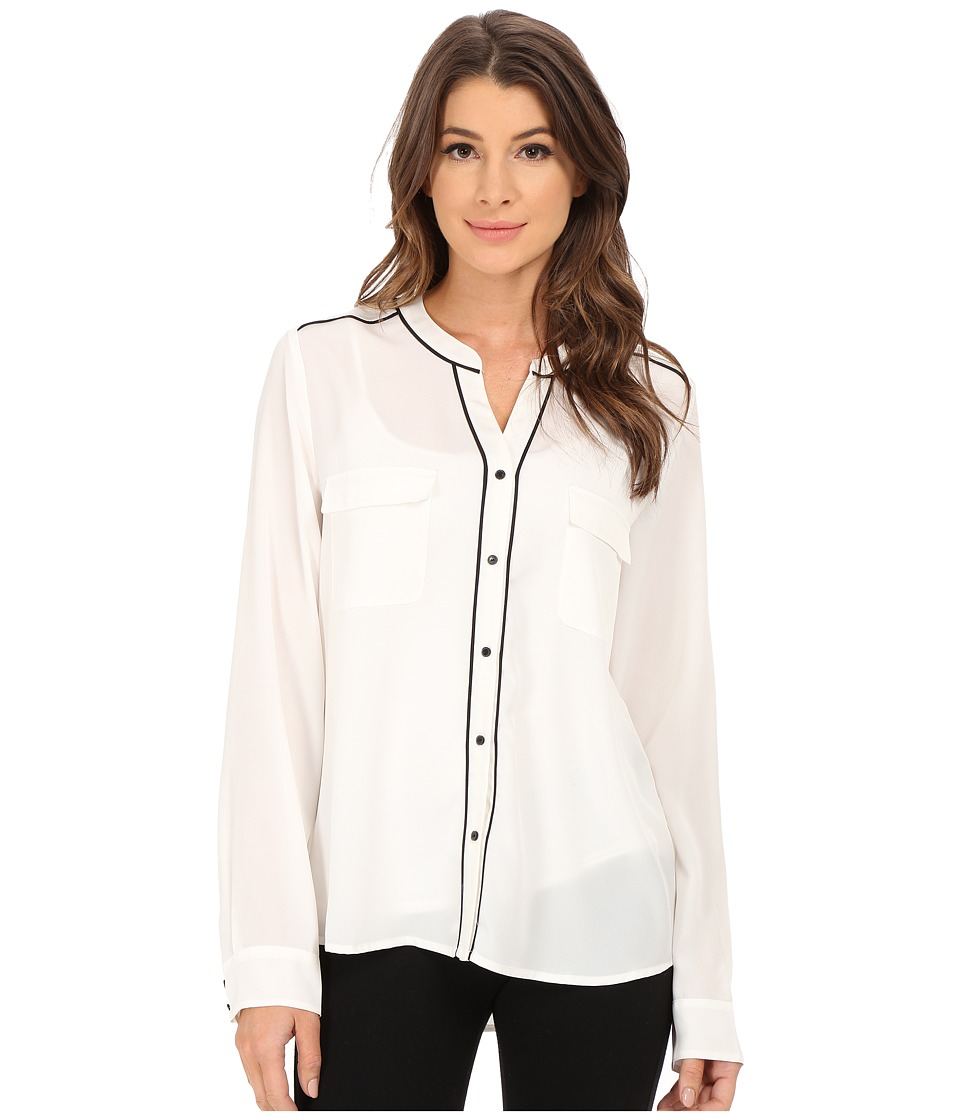 Sanctuary - The Essential Parisian Blouse (Winter White) Women's Blouse