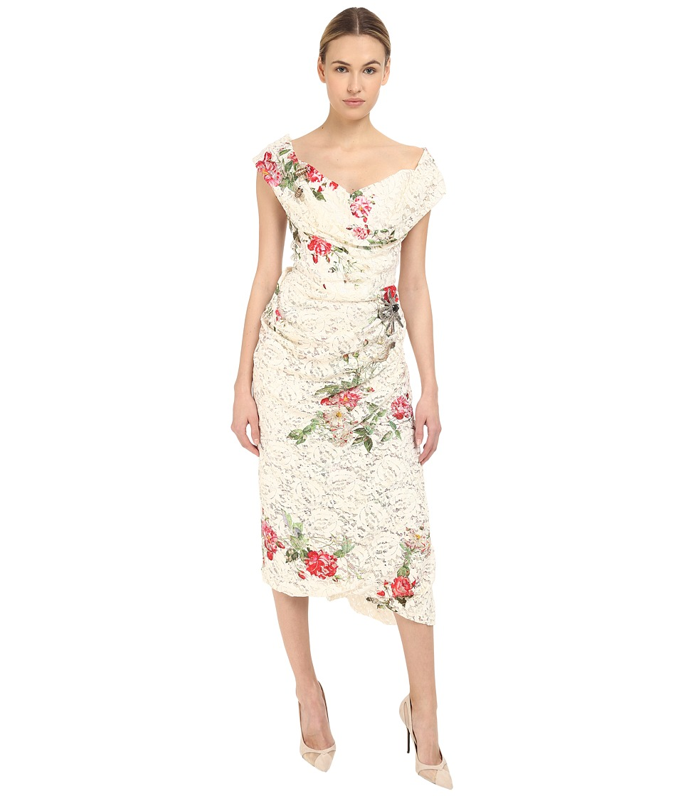 Vivienne Westwood Lotus Flower Lace Cocotte Red Carpet Dress (Lace) Women