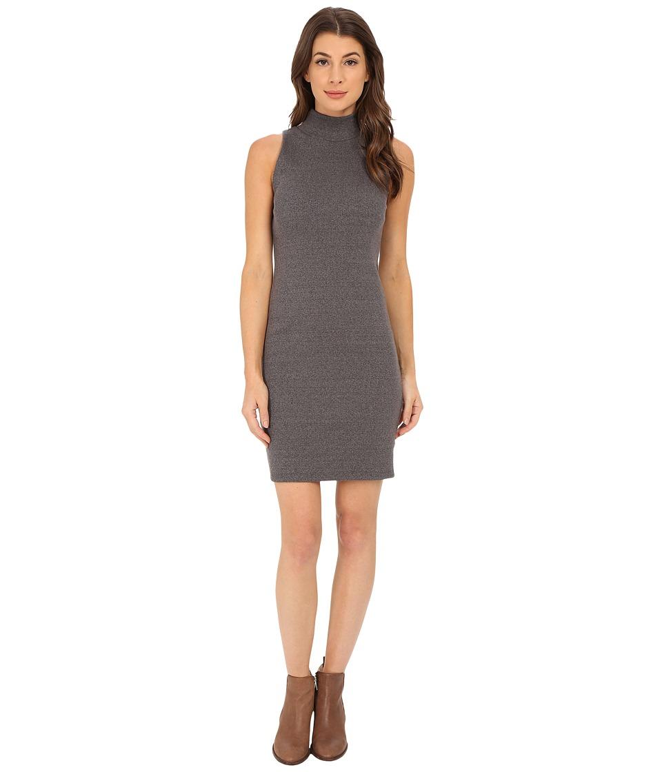 Alternative - Mock Twist Rib Frequent Flyer Dress (Eco Black) Women's Dress
