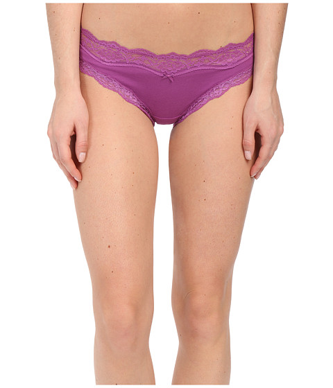 DKNY Intimates - Downtown Cotton Hipster (Deep Orchid) Women