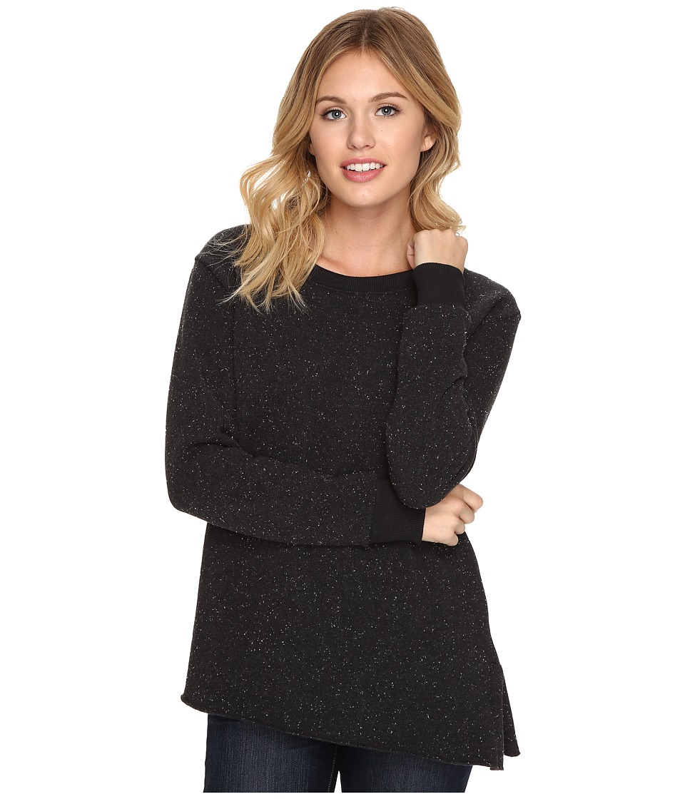Alternative - Eco Constellation Fleece Boarding Call Crew Neck (Black) Women's Sweatshirt