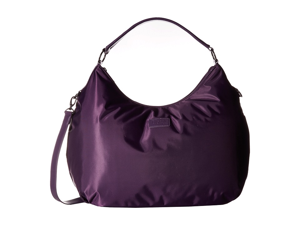 Lipault Paris - Hobo Bag (L) (Purple) Hobo Handbags