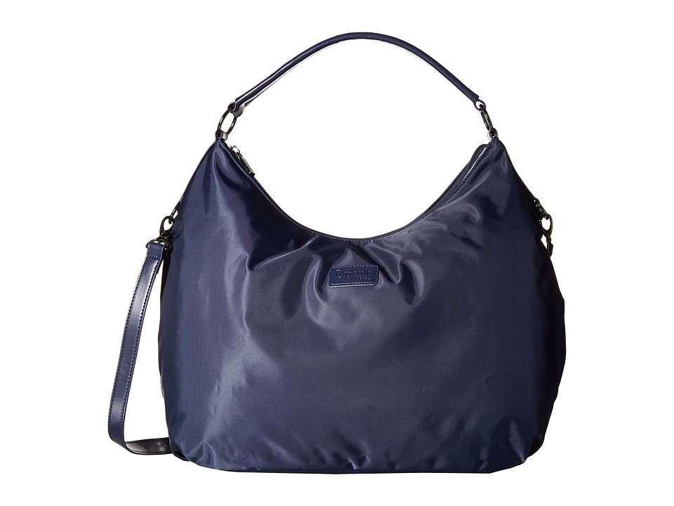 Lipault Paris - Hobo Bag (L) (Navy) Hobo Handbags
