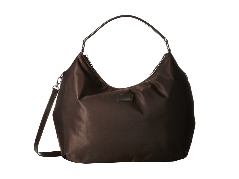 Lipault Paris - Hobo Bag (L) (Espresso) Hobo Handbags