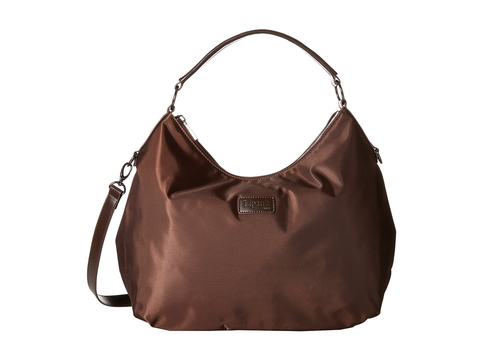 Lipault Paris - Hobo Bag (M) (Espresso) Hobo Handbags