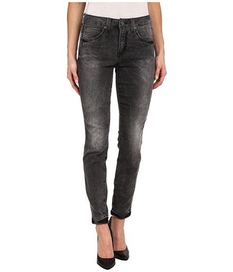 Miraclebody Jeans - Rikki Distressedd Skinny Jeans in Ashville Grey (Ashville Grey) Women's Jeans