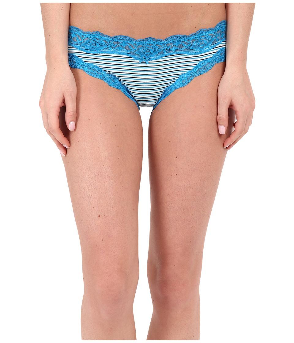 DKNY Intimates - Downtown Cotton Bikini (Poolside Stripe) Women's Underwear
