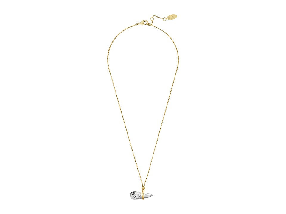 Vivienne Westwood - Blake Pendant (Gold/Rhodium) Necklace