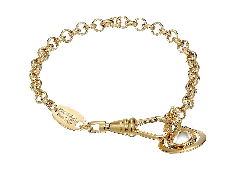 Vivienne Westwood - New Petite Orb Bracelet (Gold) Bracelet