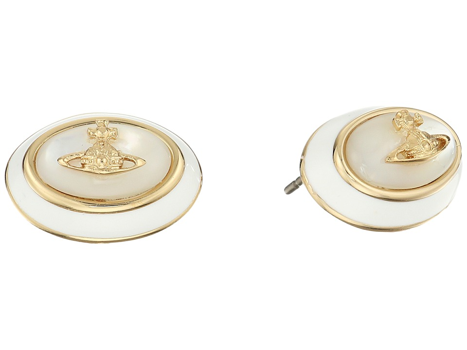 Vivienne Westwood - Dalia Earrings (White Mother of Pearl) Earring