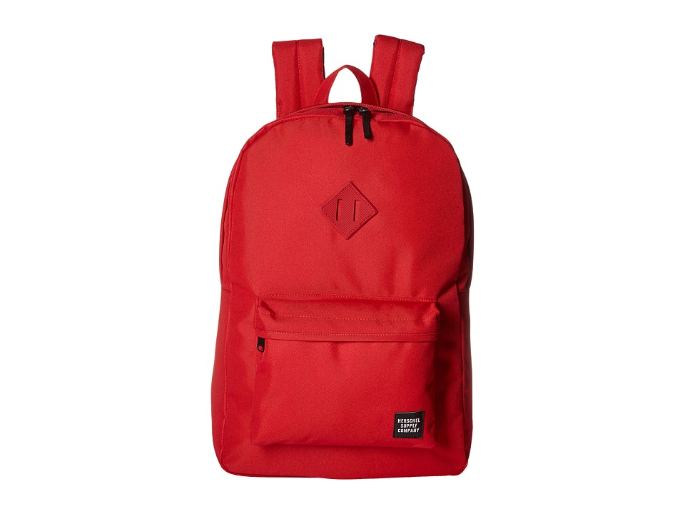 Herschel Supply Co. - Heritage (Red/Red Ballistic/Red Rubber) Backpack Bags
