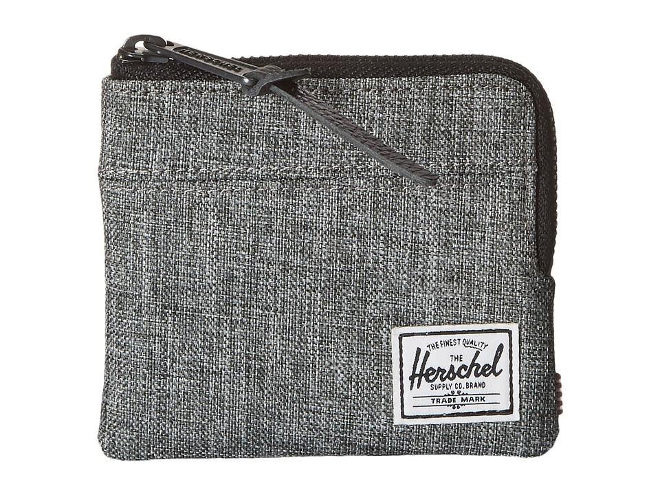Herschel Supply Co. - Johnny (Raven Crosshatch) Coin Purse