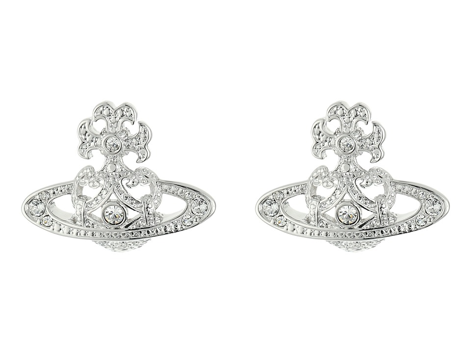 Vivienne Westwood - Cassandra Bas Relief Earrings (Crystal) Earring