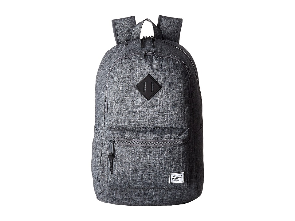 Herschel Supply Co. - Lennox (Raven Rosshatch/Black Rubber) Backpack Bags