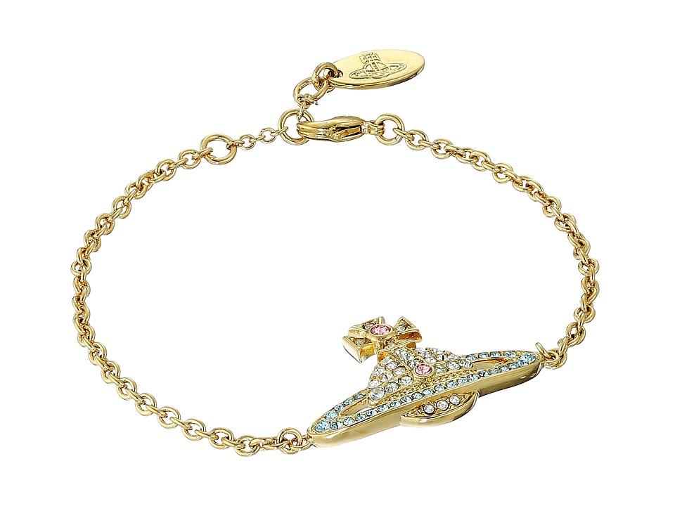 Vivienne Westwood - Kika Bracelet (Aquamarine/Crysolite) Bracelet