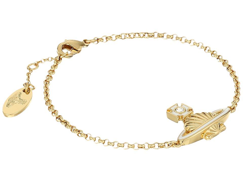 Vivienne Westwood - Medea Bas Relief Bracelet (White) Bracelet