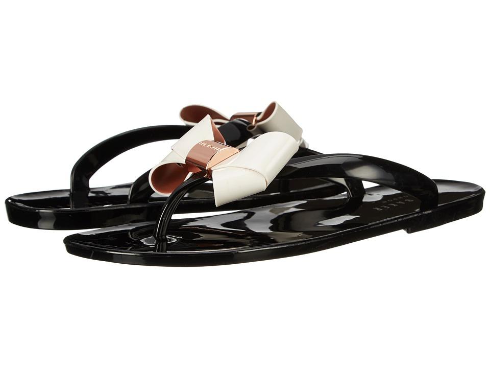 Ted Baker - Ettiea (Black/Cream) Women's Shoes
