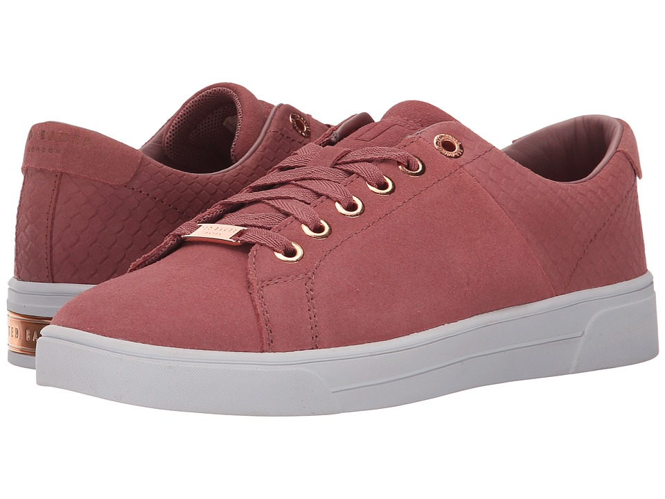 Ted Baker - Riwven (Pink Suede) Women's Lace up casual Shoes