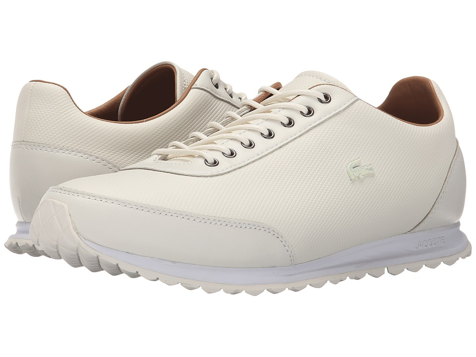 Lacoste - Helaine Runner (Off-White) Women's Shoes