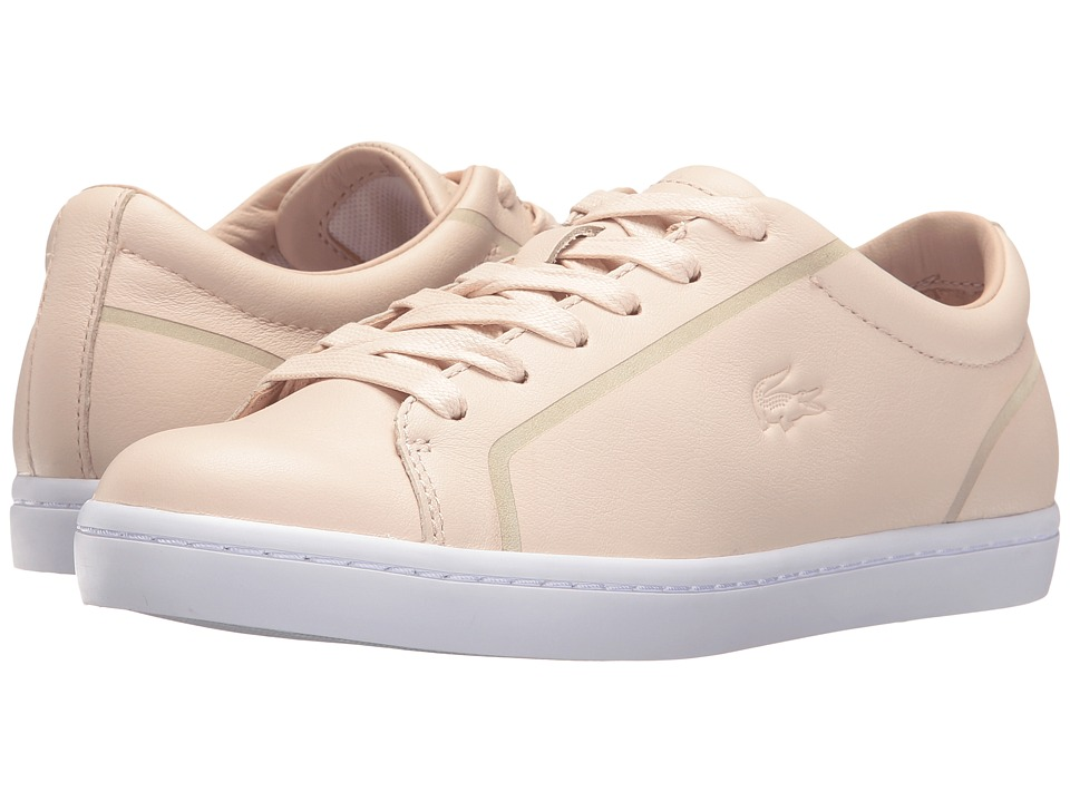 Lacoste - Straightset (Light Pink/Pink) Women's Shoes
