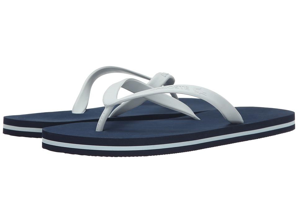 Lacoste Ancelle Slide (Navy/Light Blue) Women