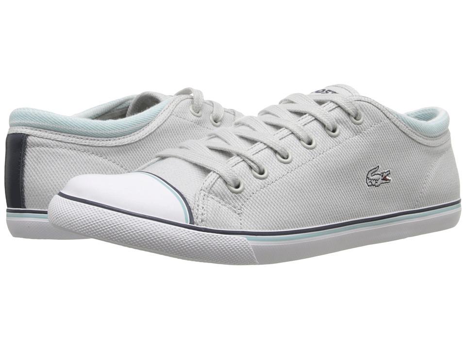 Lacoste - Shore (Light Grey) Women's Lace up casual Shoes