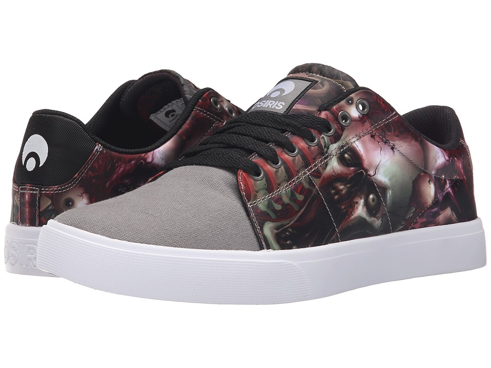 Osiris Rebound VLC (Huit) (Grey/Black/Zombie) Men