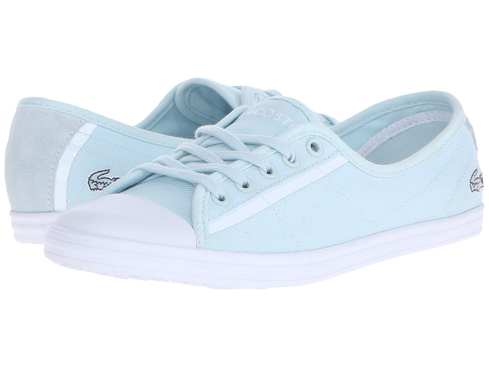Lacoste - Ziane (Light Blue) Women's Lace up casual Shoes
