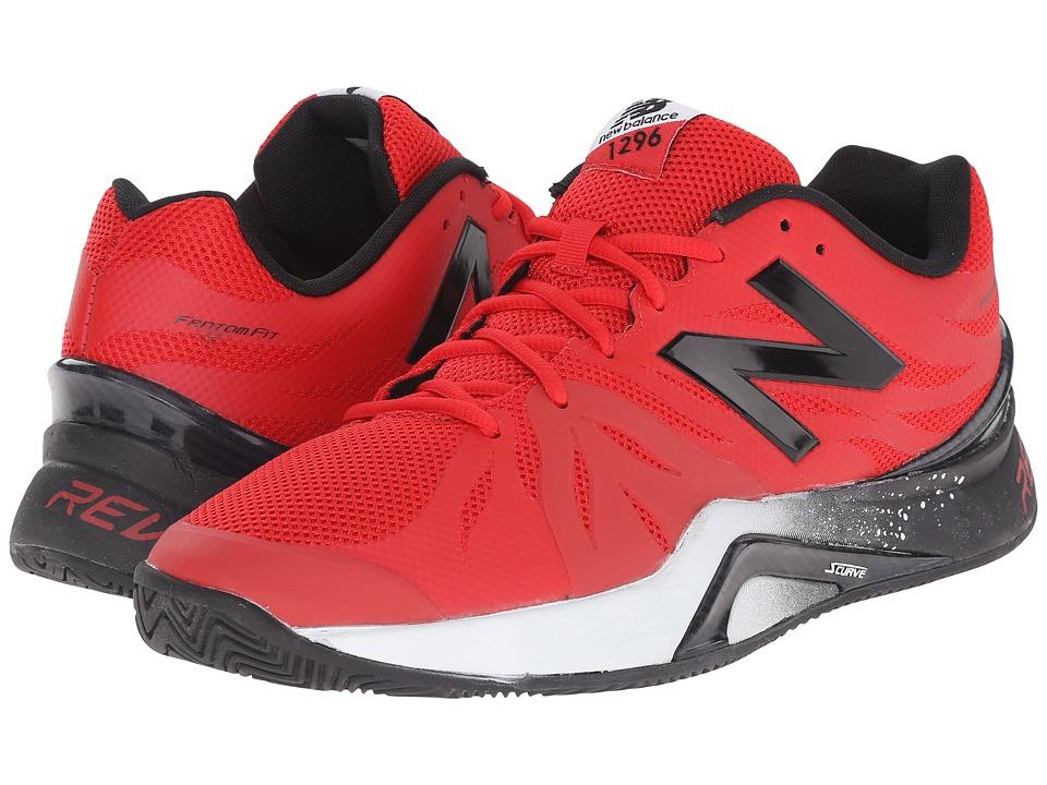 New Balance - MC1296v2 (Red/Black) Men's Tennis Shoes