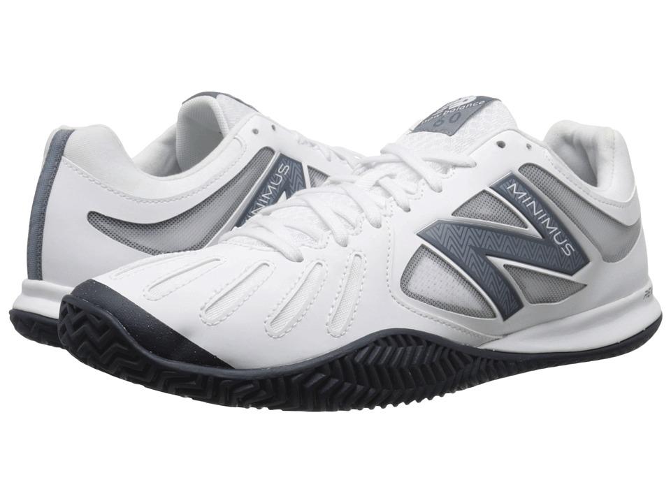 New Balance - MC60 (White/Black) Men's Tennis Shoes