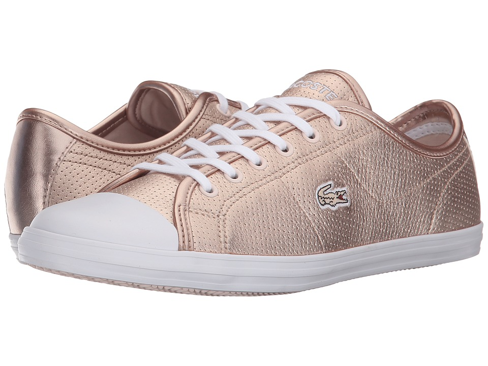 Lacoste - Ziane Sneaker (Pink) Women's Lace up casual Shoes