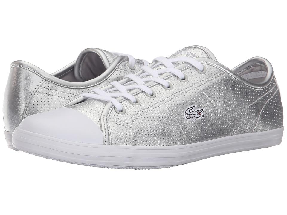 Lacoste Ziane Sneaker (Silver) Women