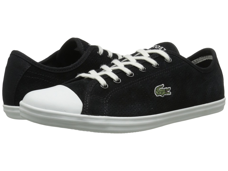 Lacoste - Ziane Sneaker (Black) Women's Lace up casual Shoes