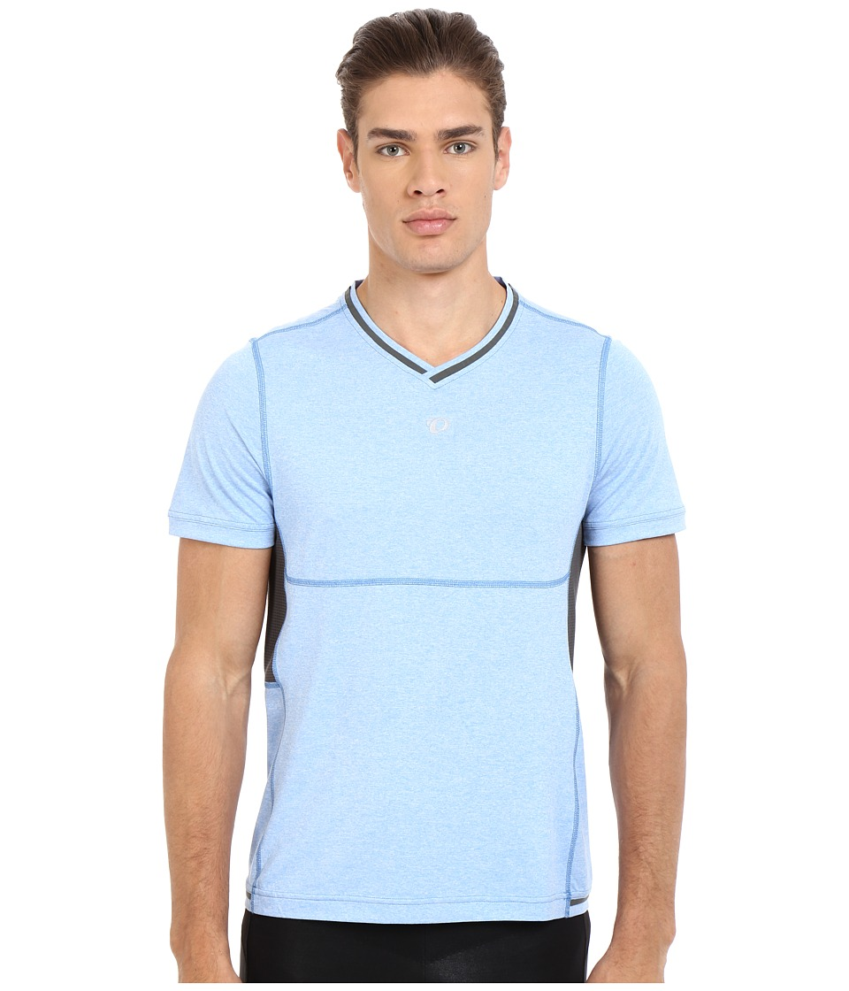 Pearl Izumi - Escape Short Sleeve Shirt (Sky Blue) Men's Short Sleeve Pullover