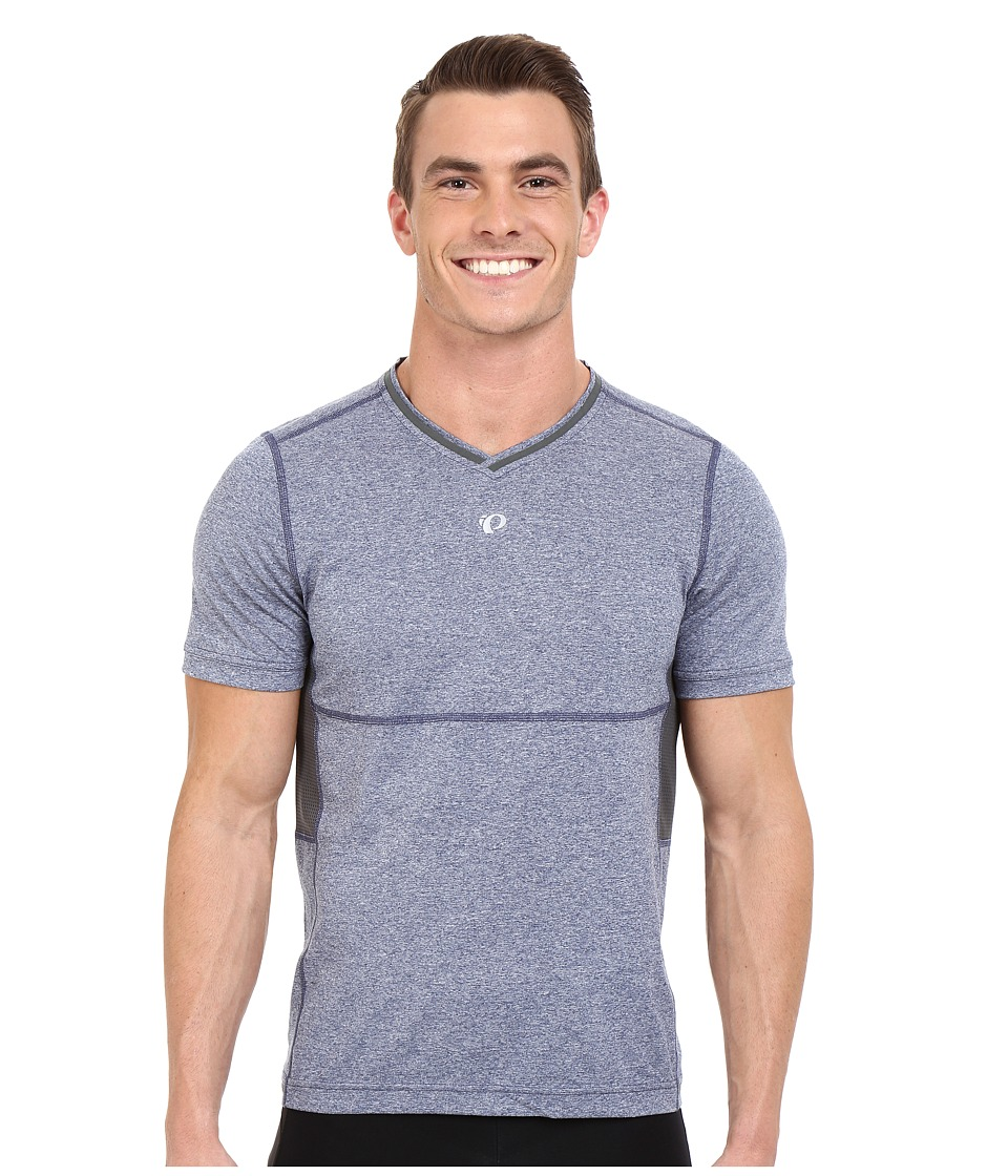 Pearl Izumi - Escape Short Sleeve Shirt (Deep Indigo) Men's Short Sleeve Pullover