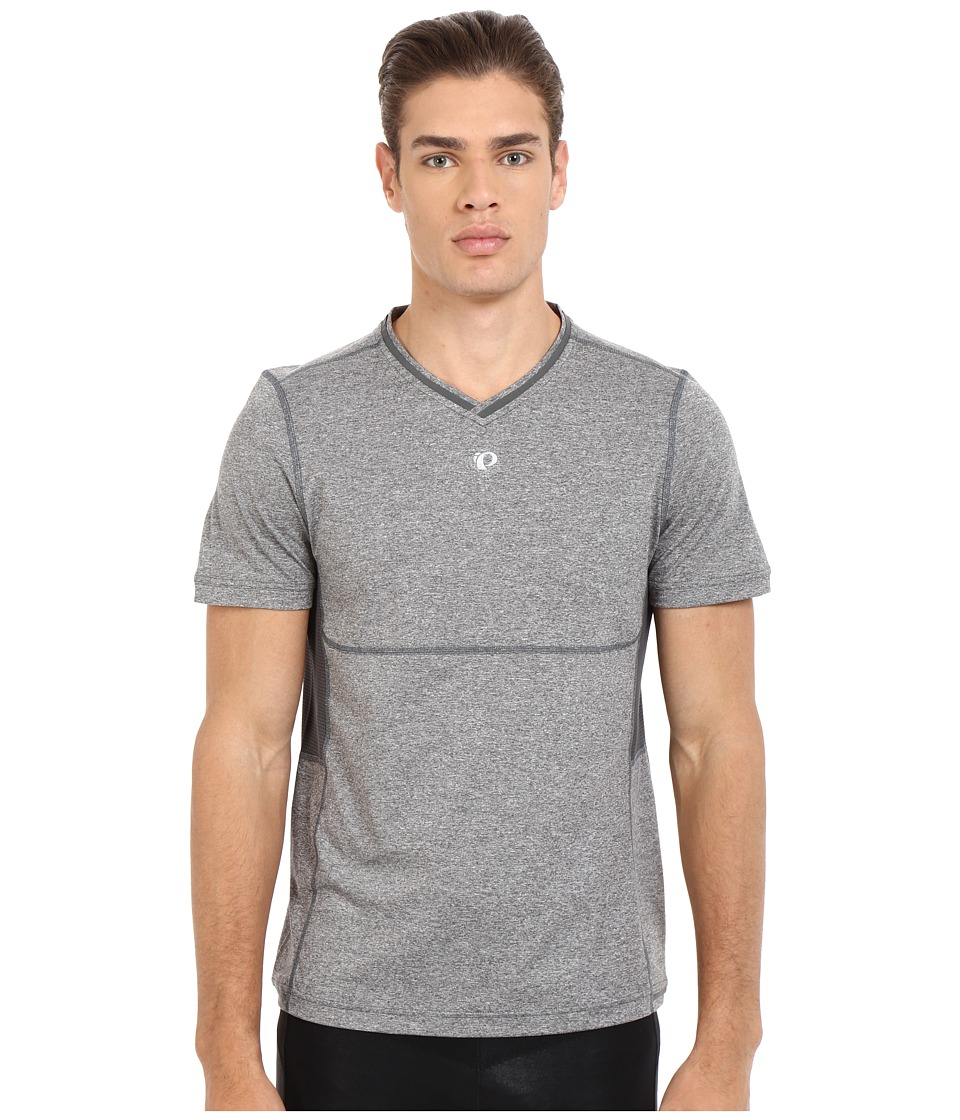 Pearl Izumi - Escape Short Sleeve Shirt (Shadow Grey) Men's Short Sleeve Pullover