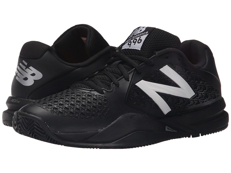 New Balance - MC996v2 (Black) Men's Tennis Shoes