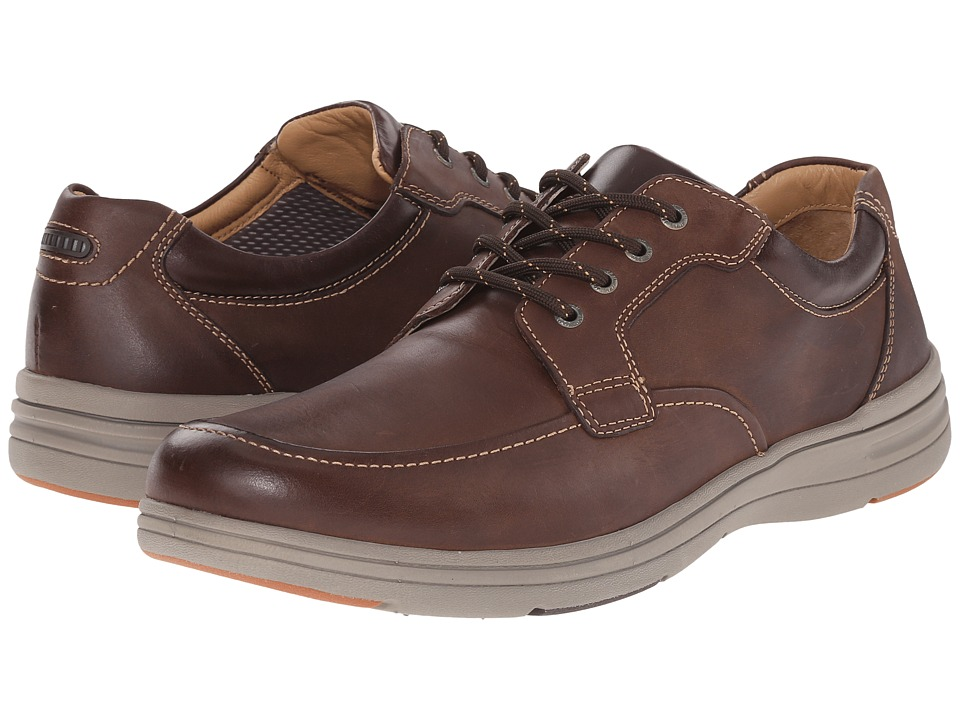 Johnston & Murphy Matthews Moc Toe (Brown Full Grain) Men