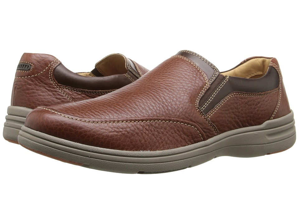 Johnston & Murphy Matthews Slip-On (Mahogany Full Grain) Men
