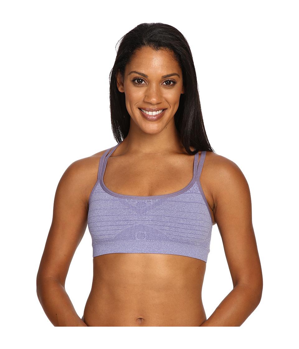 Smartwool - PhD Seamless Double Strappy Bra (Desert Purple Heather) Women's Bra