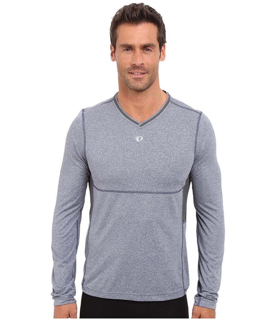 Pearl Izumi - Escape Long Sleeve Shirt (Deep Indigo) Men's Long Sleeve Pullover