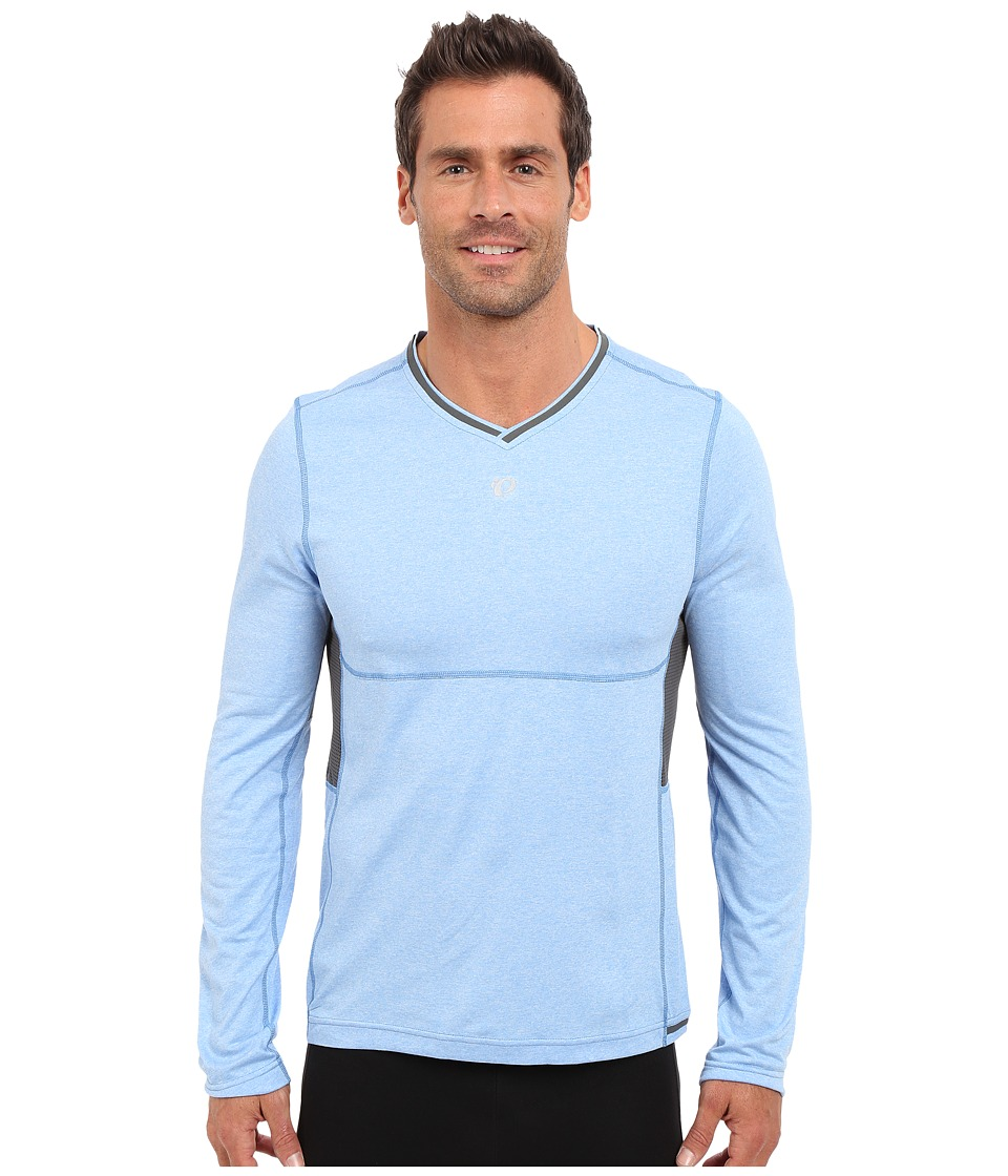 Pearl Izumi - Escape Long Sleeve Shirt (Sky Blue) Men's Long Sleeve Pullover