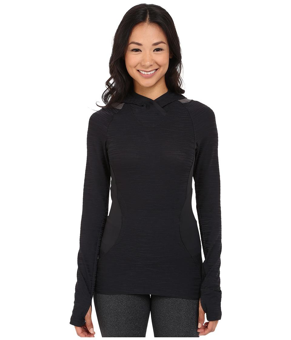 Pearl Izumi - Flash Hoodie (Black/Shadow Grey) Women's Sweatshirt
