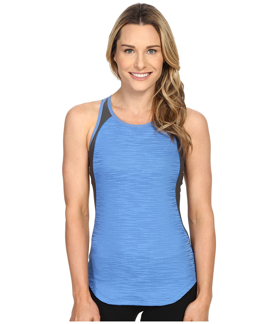 Pearl Izumi - Flash Singlet (Sky Blue/Shadow Grey) Women's Workout