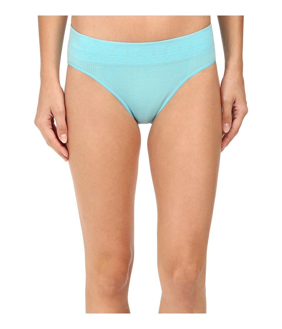 Smartwool - PhD(r) Seamless Mid Rise Bikini (Light Capri) Women's Underwear