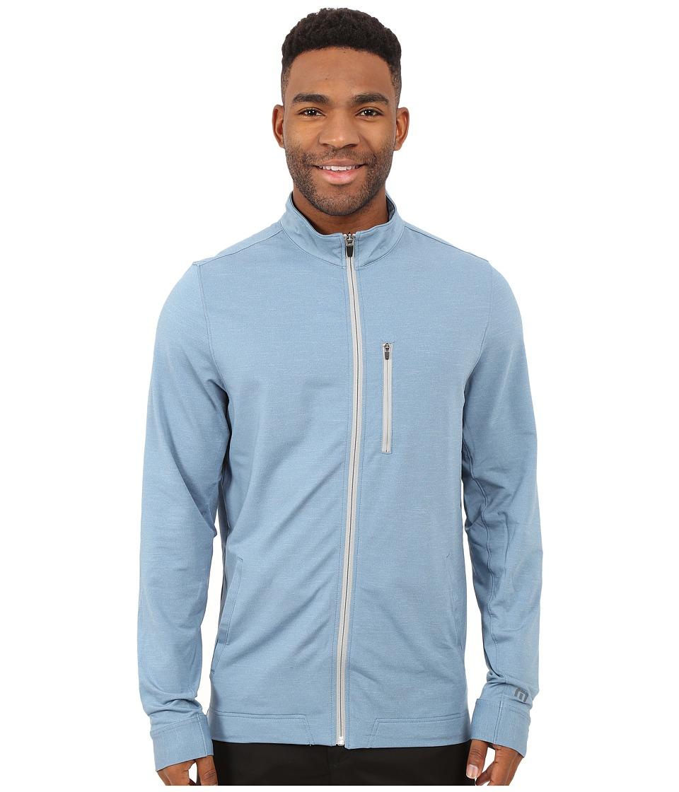 TravisMathew - Tarpon Top (Heather Provincial Blue) Men's Coat